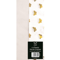 Butterfly White Tissue Paper Pack 50x70cm